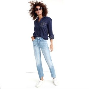"""Madewell """"Cruiser Straight: Reconstructed """" Jeans"""